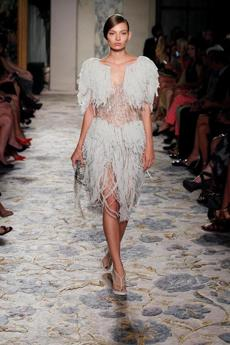 """Great Gatsby""-influenced Spring/Summer 2012 fashion by Marchesa."