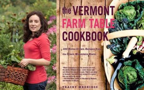 """The Vermont Farm Table Cookbook"" by Tracey Medeiros."