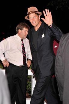 Tom Brady attended the Barnstable Brown gala the night before the Derby.