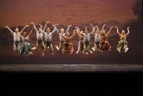 "Paul Taylor Dance Company will present six works, including ""Perpetual Dawn,"" in Great Barrington on Memorial Day weekend"