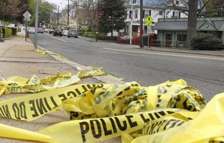 McLain was struck and killed by an MBTA bus Tuesday night at Franklin and Pratt streets in Melrose.