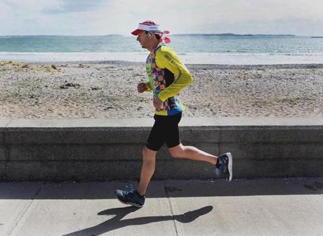 Robert Siciliano, a member of Boston Children's Hospital's charity running team, has been haunted by the bombing victims' injuries, and by his own behavior.