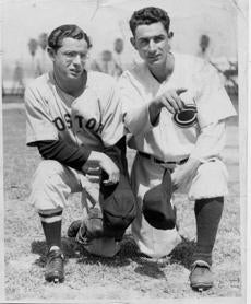 Dom with Vince DiMaggio in an undated photo.