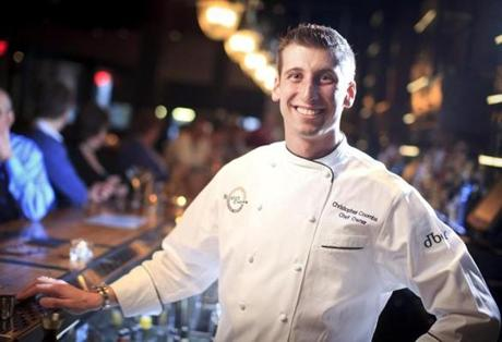 Chef-owner of Boston Chops, Chris Coombs.