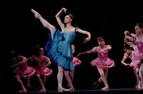 Ashley Ellis performed in the dress rehearsal of the ballet,  which is at the Boston Opera House.