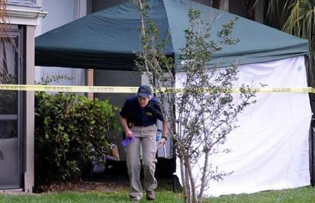 FBI agents removed evidence after the shooting of Ibragim Todashev in Orlando.