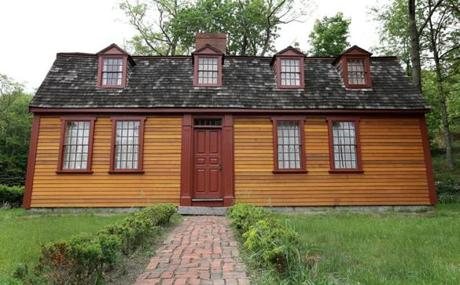 After a $150,000 structural and exterior restoration, the Abigail Adams Birthplace, in North Weymouth, will open to the public in June.
