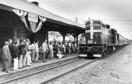 Trains have run between Boston and Cape Cod on and off since 1854. The last iteration was launched in 1984.