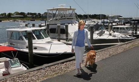 Alyson Taubert said her Yarmouth powerboat rental service had no business over the Memorial Day weekend.