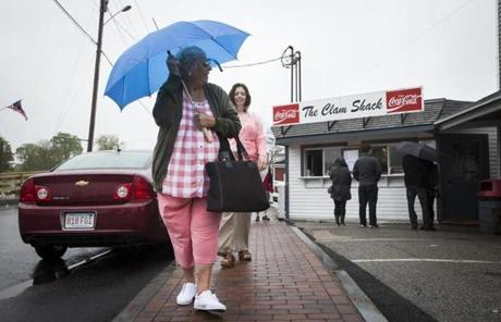 Despite the rainy and chilly weather, many New England businesses said they had a strong Memorial Day weekend.