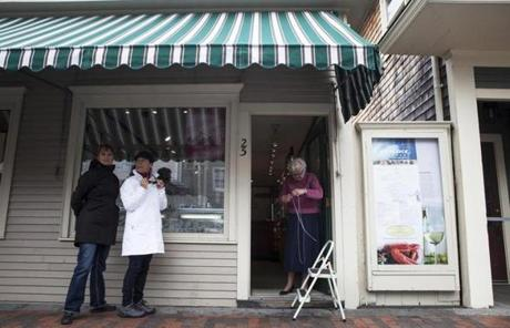 At Port Jewelry in Kennebunkport, owner Gerda Towne said,