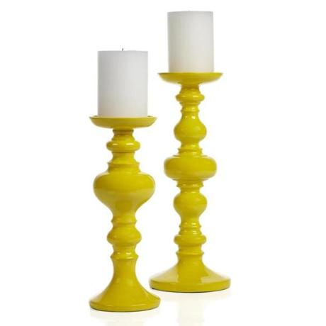 Candleholders from Z Gallerie.