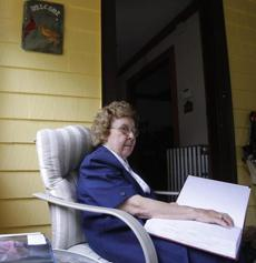 Helen Fahey, a graduate of the Perkins School for the Blind, worked at the National Braille Press in Boston for 53 years.