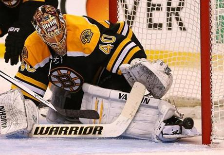 But Tuukka Rask was outstanding for the Bruins, and stopped 53 of 54 shots.