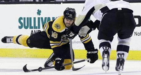 The Bruins held a 3-0 series lead in the Eastern Conference finals going into Friday night's game.