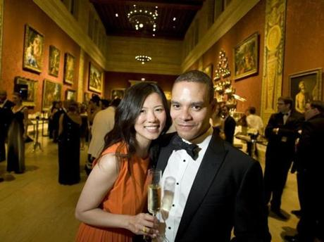 Susana Ngan and Wilson Amorin, both of Boston. Saturday, June 8, 2013 at the Museum of Fine Arts Summer Party 10th Anniversary Gala Celebration. Photo by Laurie Swope