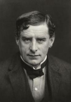 Painter Walter Richard Sickert, in a 1911 photograph by George Charles Beresford. Sickert was fascinated with the Jack the Ripper murders and used them to promote his own work.