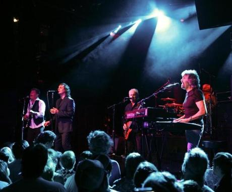 Colin Blunstone (second from left) and Rod Argent (far right) are the two original members of the Zombies.