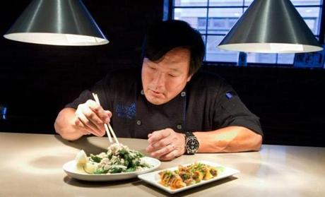 Ming Tsai at Blue Dragon in 2013.