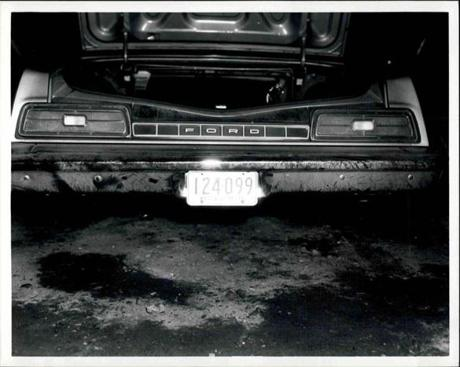 Alfred Notarangeli's body was found in the trunk of this car.