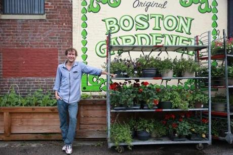 Jonathan Napoli owns Boston Gardener, a Dudley Square gardening supply shop.