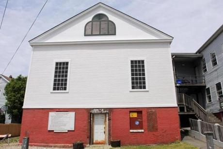Also on the endangered list is the Abyssinian Meeting House in Portland, Maine, once part of the Underground Railroad.