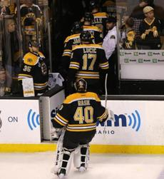 The Bruins and Tuukka Rask left disappointed after yielding home ice back to the Blackhawks.