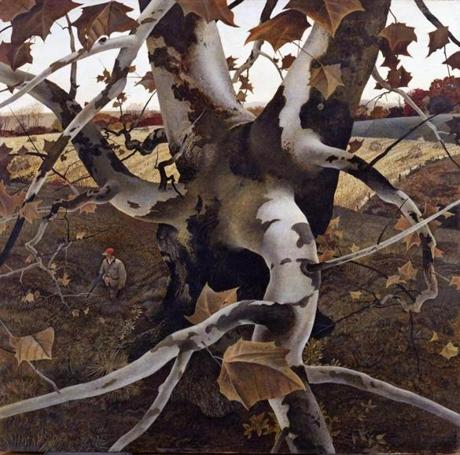 """The Hunter"" by Andrew Wyeth."