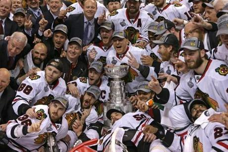 For the Blackhawks, it was their second Stanley Cup in four seasons.