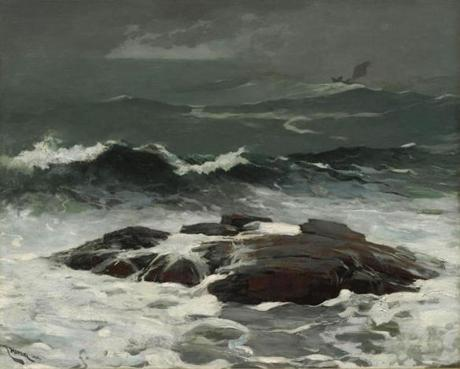 Winslow Homer (American, 1836–1910), Summer Squall, 1904. Oil on canvas, 24 1/4 x 30 1/4 in. (61.6 x 76.8 cm). Sterling and Francine Clark Art Institute, Williamstown, Massachusetts, 1955.8 07homer Sterling and Francine Clark Art Institute
