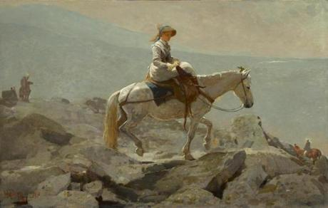 07homer Winslow Homer, The Bridle Path, White Mountains, 1868. Oil on canvas. The Clark, 1955.2 Sterling and Francine Clark Art Institute