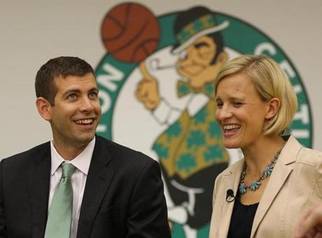 Stevens was joined by his wife, Tracy, who also negotiated his contract.