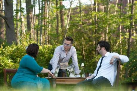 Sara Katzoff, Timothy Ryan Olson, and Peter Wise run the Berkshire Fringe Festival out of the Daniel Arts Center at Bard College at Simon's Rock.