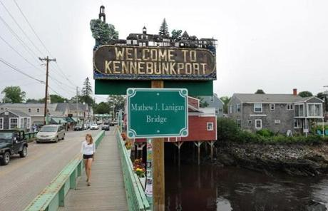 Kennebunkport is getting a makeover with the help of Tim Harrington and his business partner, Deb Lennon.