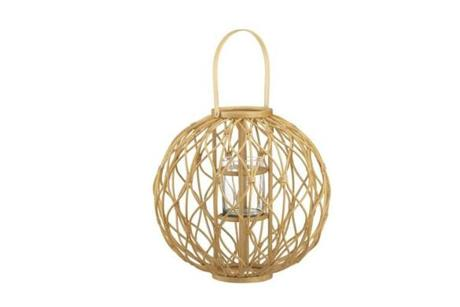 Careen lantern, $59.95 at Crate & Barrel, 777 Boylston St., Boston, 617-262-8700, www.crateandbarrel.com