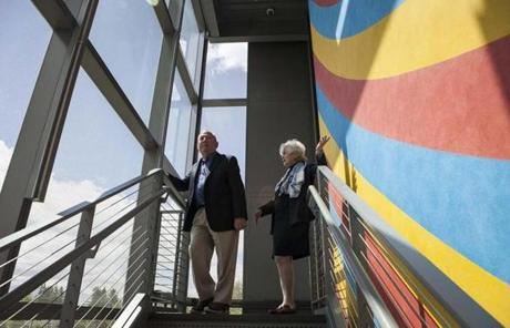 Peter and Paula Lunder's gift of art has transformed the Colby College Museum of Art in Waterville, Maine.