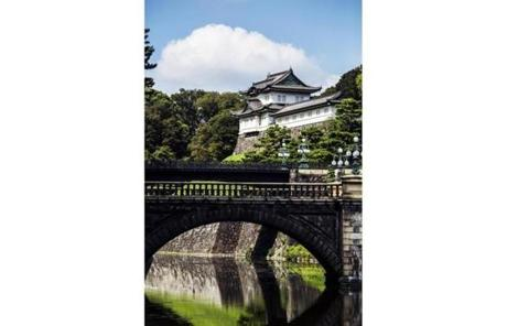 The Nijubashi Bridge in the Imperial Palace East Garden.