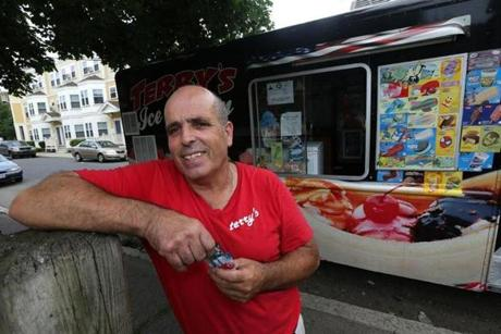Carlos Rocha said gas prices and truck maintenance make ice cream trucks a costly enterprise.