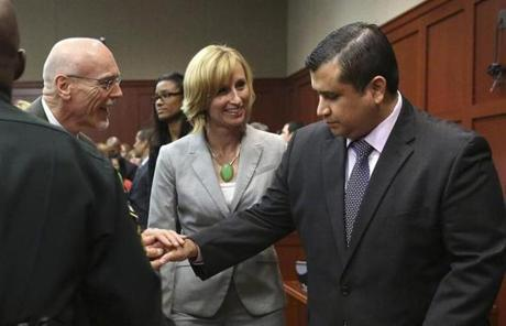George Zimmerman was found not guilty in the shooting death of Trayvon Martin.