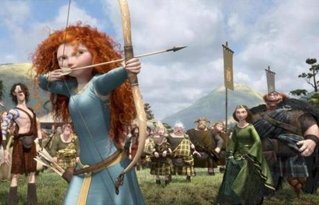"""Brave,"" a commercially and critical successful 2012 film about an archer girl in the Scottish highlands, was rated PG."