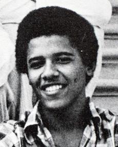 President Obama in 1978.