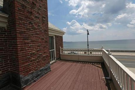 It also has its own 208-square-foot deck with unobstructed ocean views.
