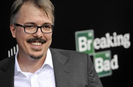 "Vince Gilligan of ""Breaking Bad."""