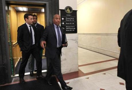 Nearing the end of his tenure as governor, it is not clear how active Deval Patrick will remain at the State House.
