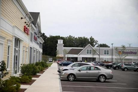 In Wayland, much of the land is zoned for housing, with the new Wayland Town Center among the few exceptions.