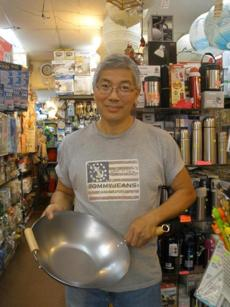 K.K. Discount Store, which sells cookware and is owned by Mr. Li.
