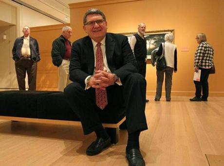 "Of working with a larger firm, Peabody Essex Museum director Dan Monroe said, ""You're not depend-ent on only one or two people in terms of a design team."""