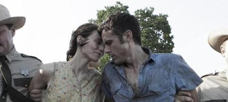 "Affleck with Rooney Mara in the film ""Ain't Them Bodies Saints."""