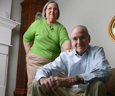Terrie and Jim Lambert, who was diagnosed with Alzheimer's, but was found to have a treatable brain disorder.