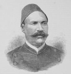Egyptian Ahmed Urabi led a revolt against the Ottoman ruler in 1882.�